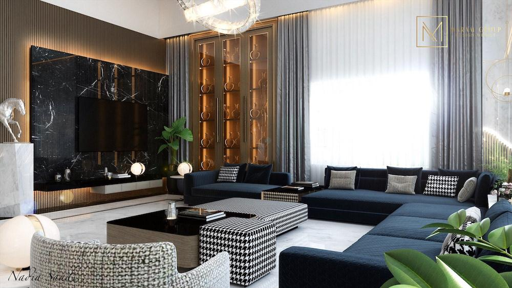 All the latest trends in modern fashionable interior design