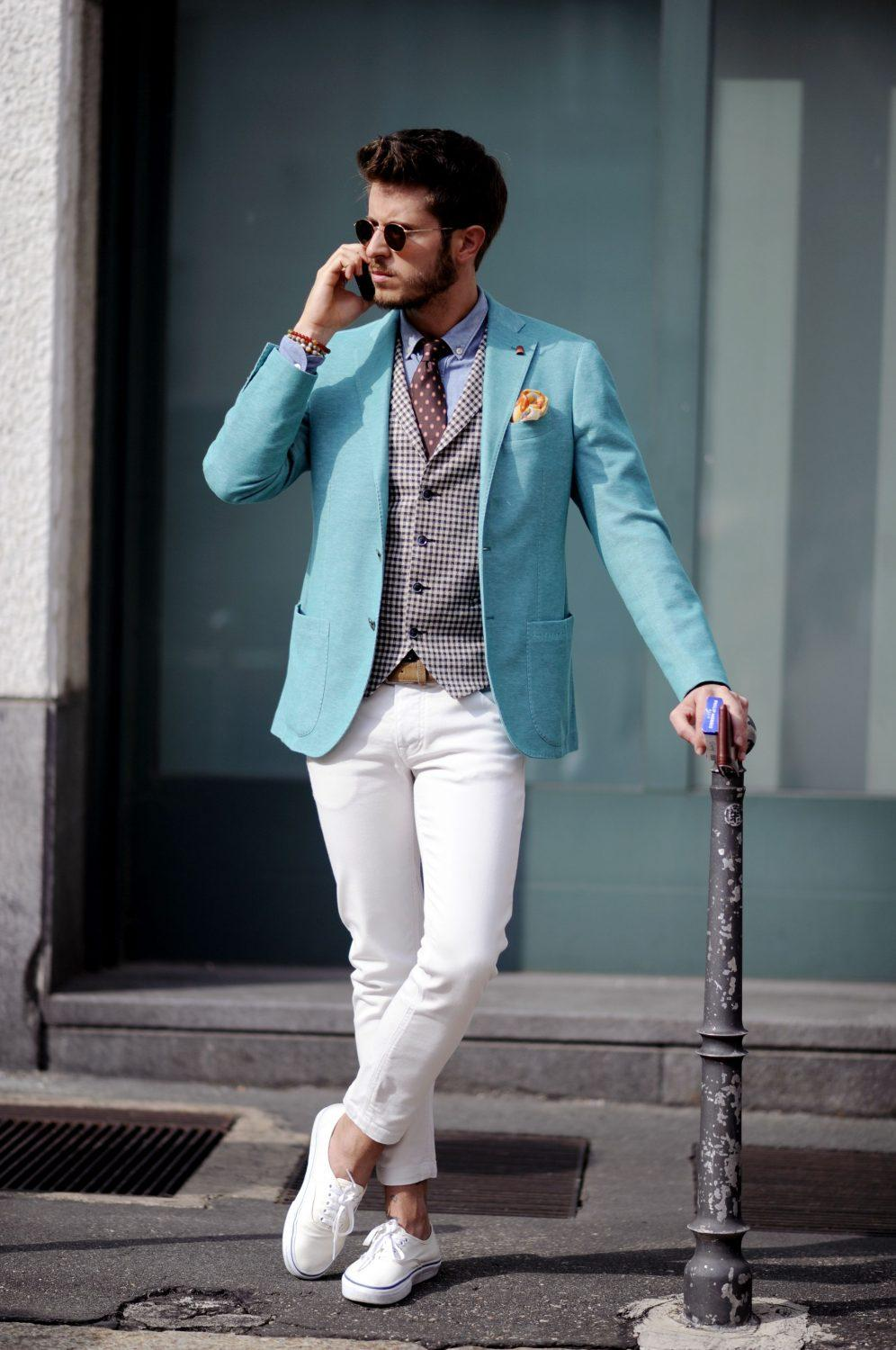 Let's look at the latest trends in exquisite men's fashion
