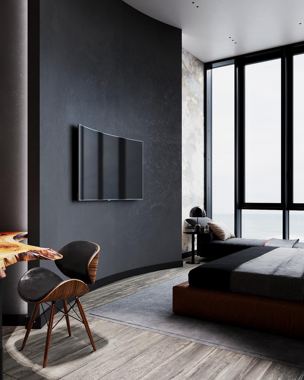 The perfection and simplicity of exquisite lines in every detail, perfectly matched palette of colors, all this creates a feeling of home comfort.