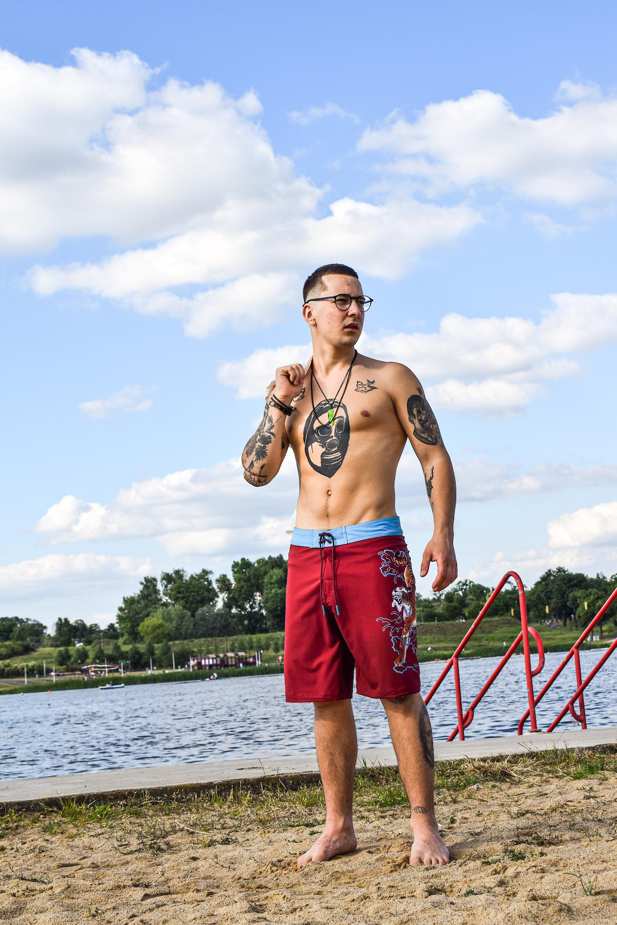 An excellent selection of stylish and comfortable clothing for tattoo lovers and beach lifers