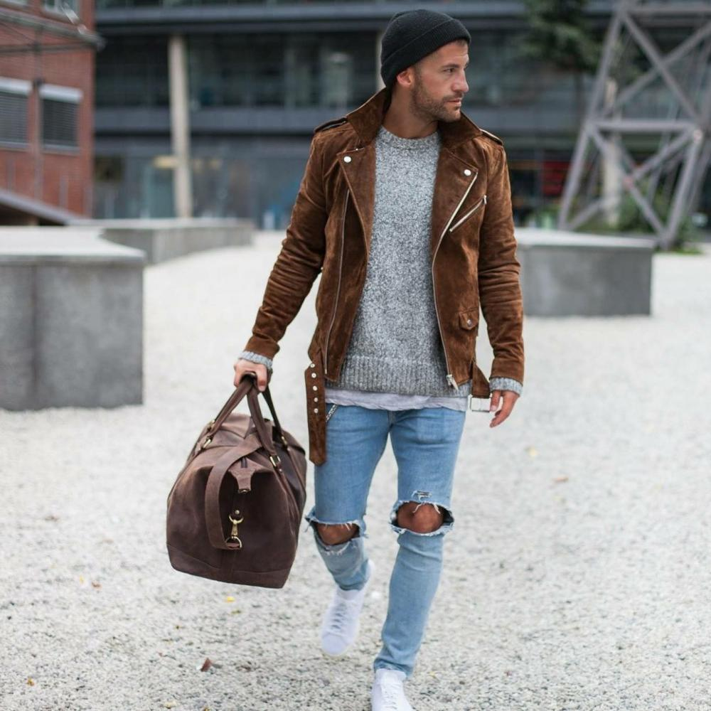 A quick and easy guide for men to create a casual look for autumn