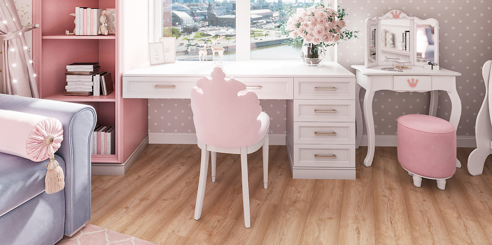 How to decorate a cozy pink room for a little princess?