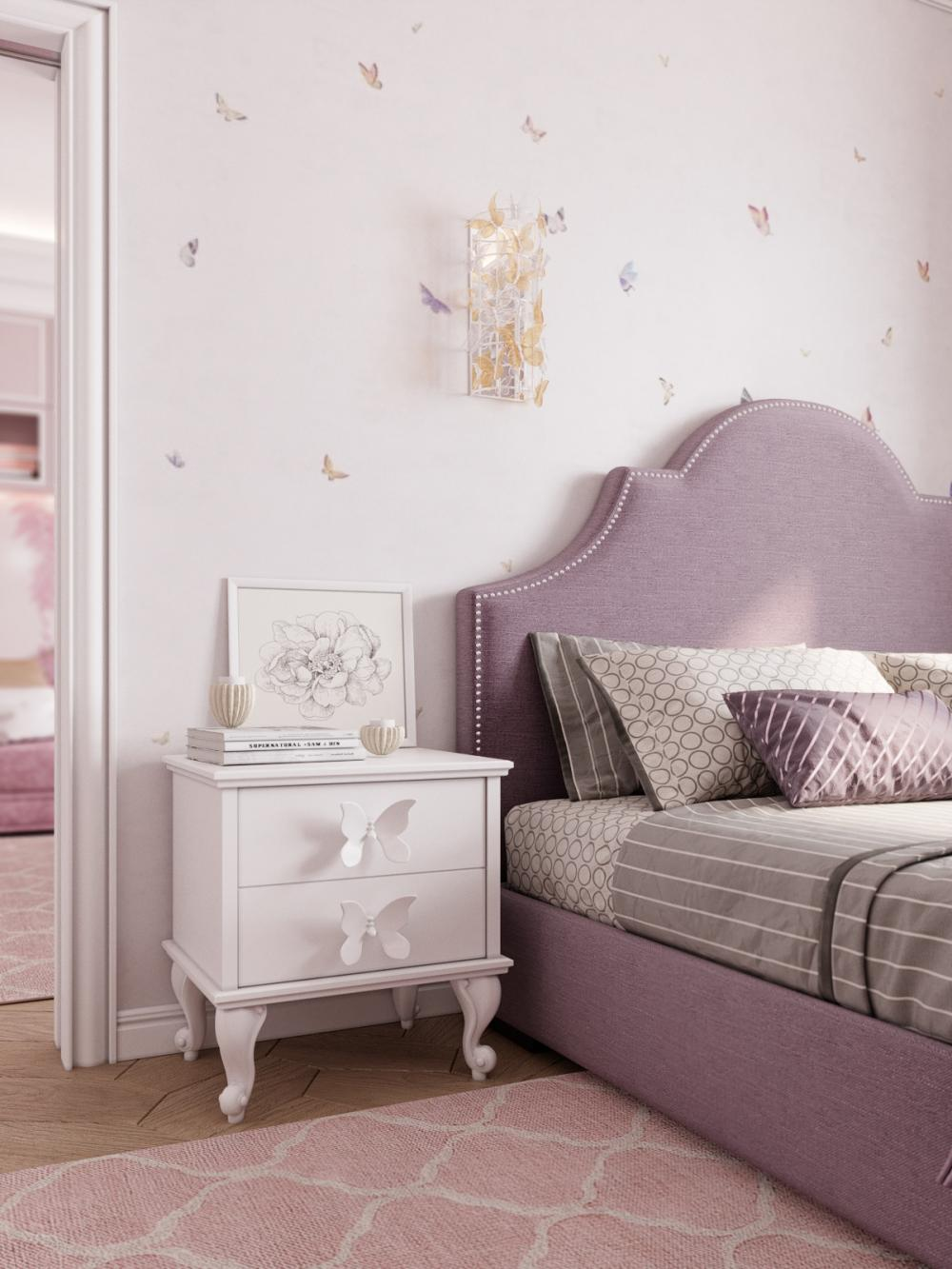 Best ideas on how to decorate your little daughter's room