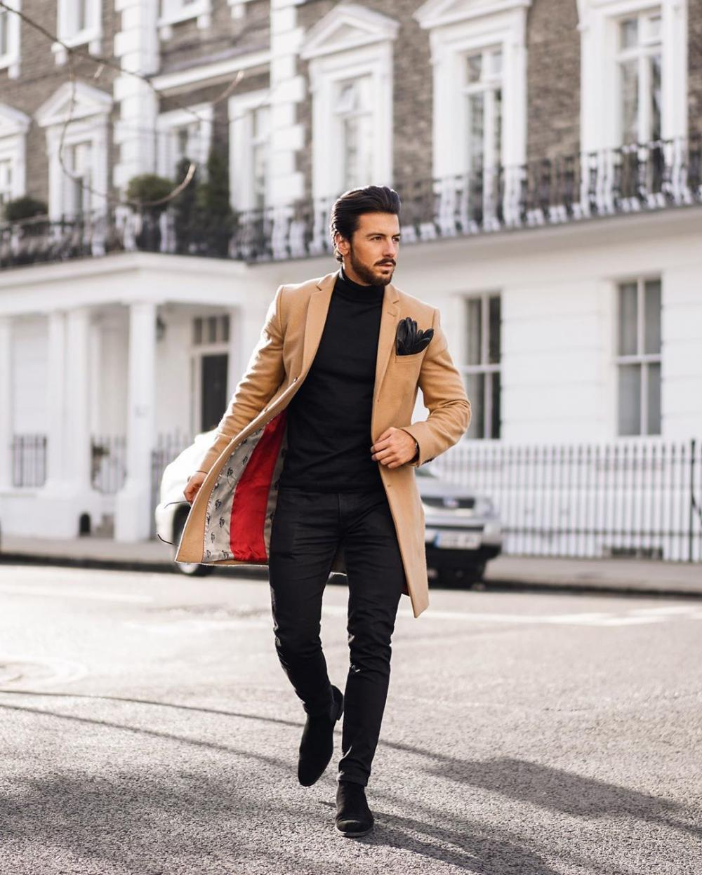 15 best stylish men's looks for fall. Following the fashion trends of the season