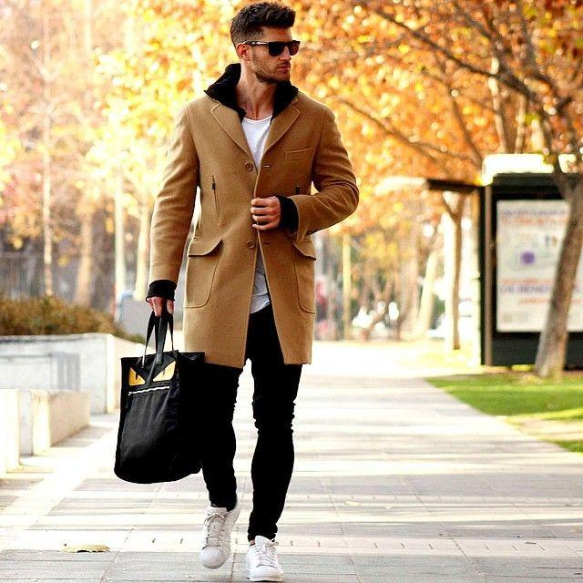 Complete review of the most fashionable men's looks for cold weather