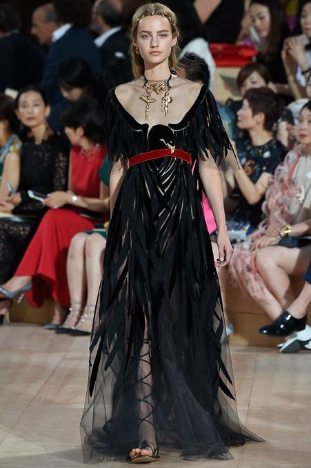 Valentino. Collection which in its own way is another landmark in the history of Rome