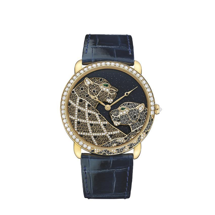 Cartier The secret watch: Time for a hint of fantasy