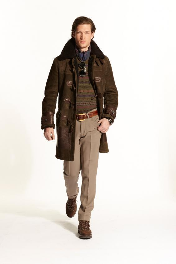 Fresh trends of men's fashion