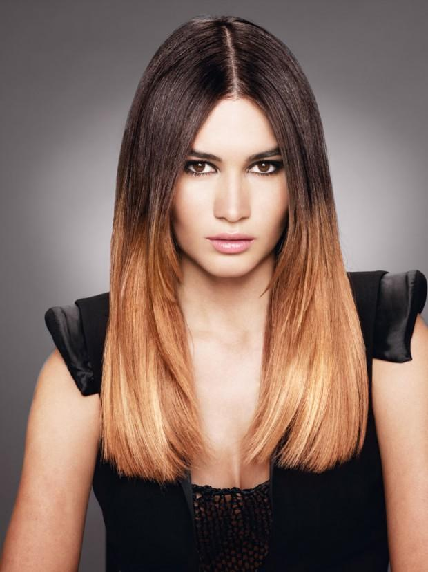 Trendy haircuts and hairstyles fall - winter