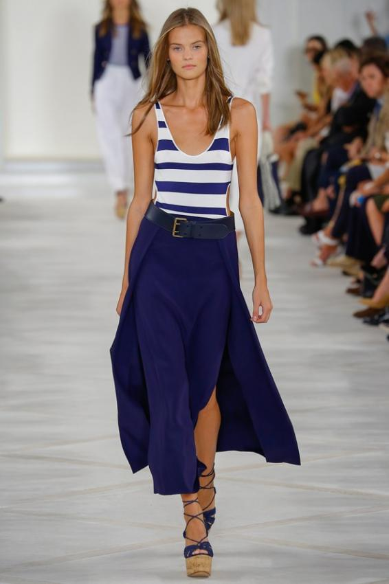 Romantic sea mood from maestro. Ralph Lauren collection