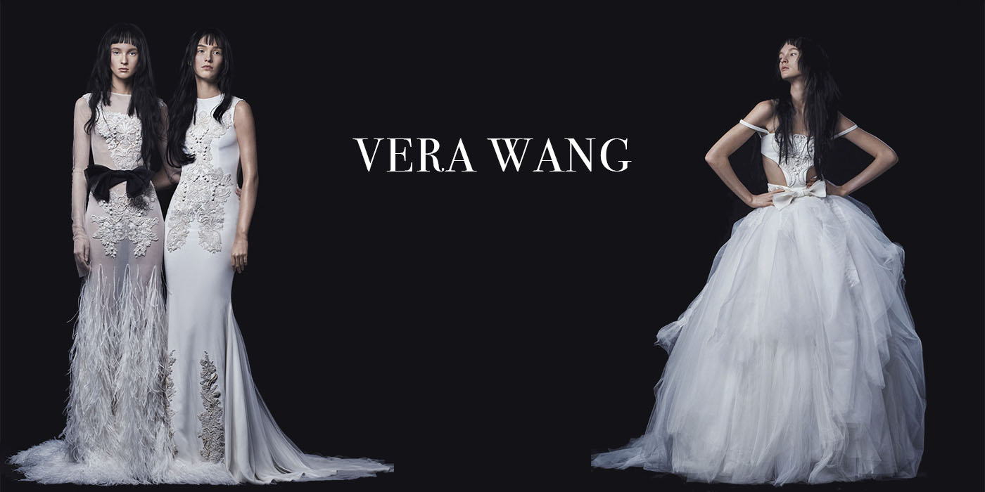 Vera Wang. Gorgeous collection of bridal dresses