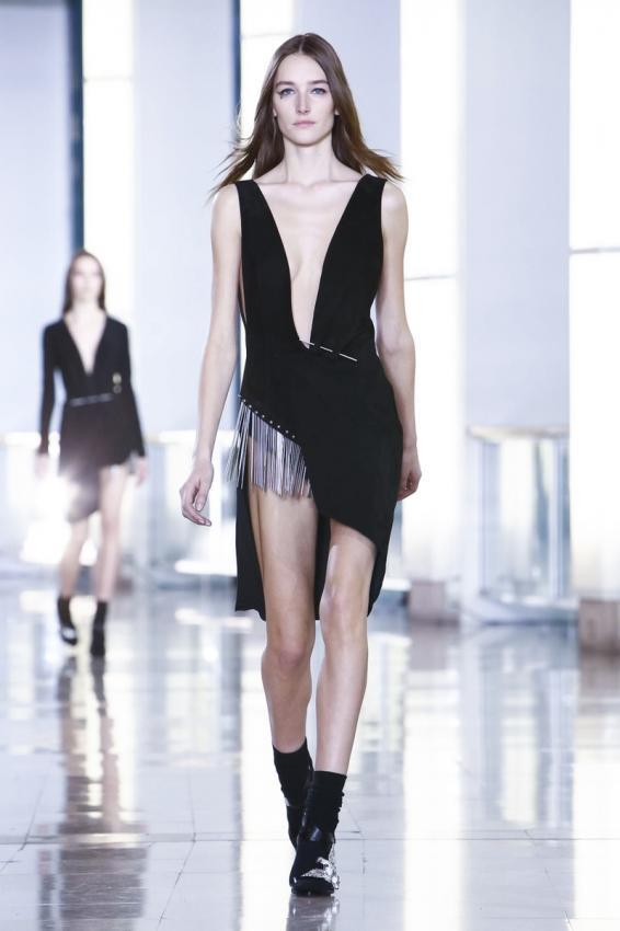 Anthony Vaccarello. Unexpected sexy collection