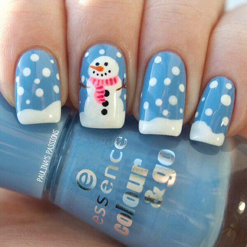 Christmas and New Yearmanicure 2016
