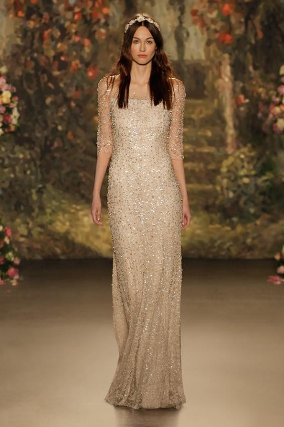 Fluttering like butterfly. Jenny Packham bridal collection