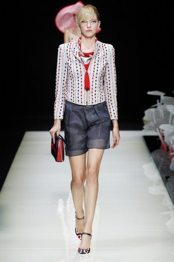Get used to good taste. Giorgio Armani Spring/Summer collection