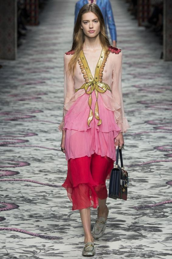 Spring is the time of gifts. Gucci Spring/Summer collection