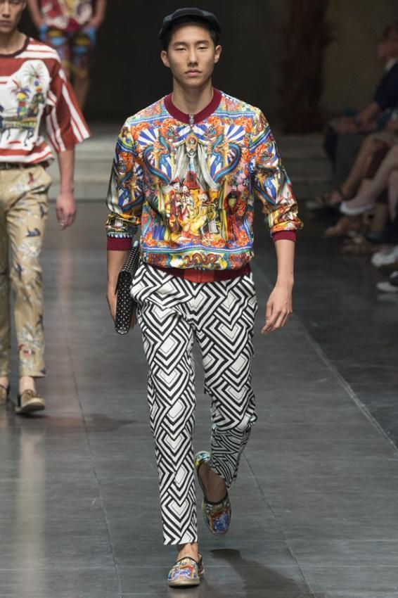 Dolce&Gabbana Menswear Spring/Summer Sicilian Chinoiserie