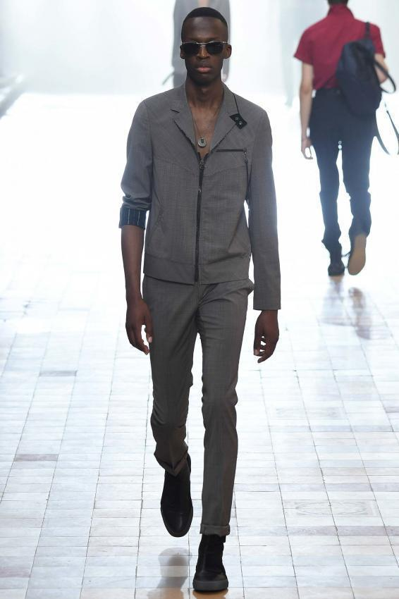 Bold experiments for new collection. Lanvin menswear Spring/Summer
