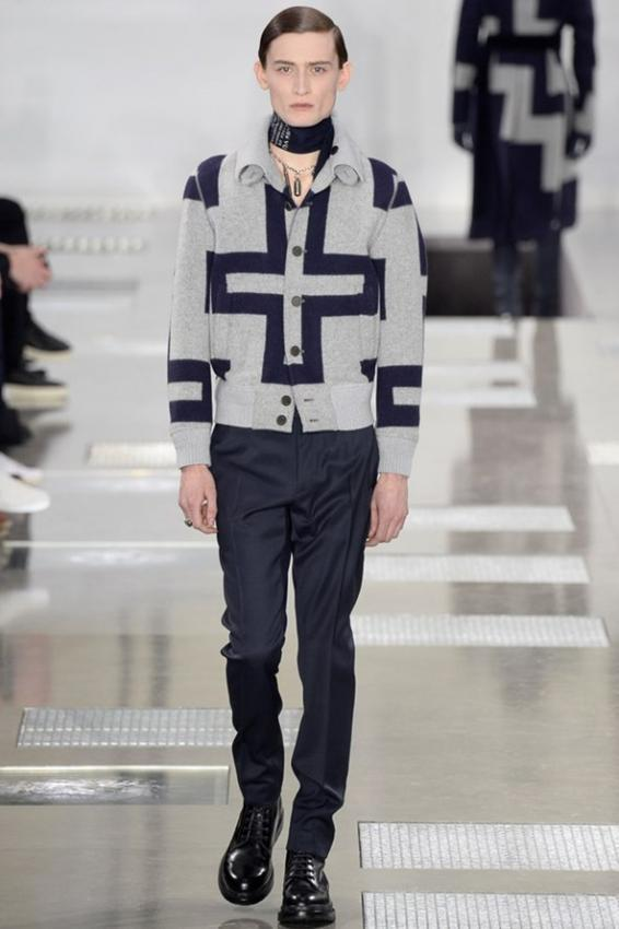 Louis Vuitton menswear Fall/Winter collection. Parisian dandy
