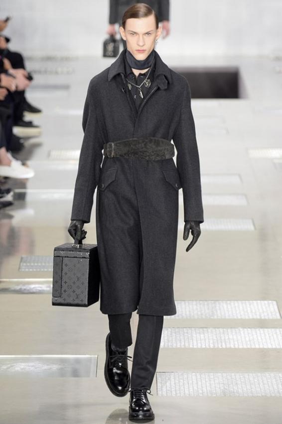 Louis Vuitton Menswear Fall Winter 2016-2017  Parisian dandy