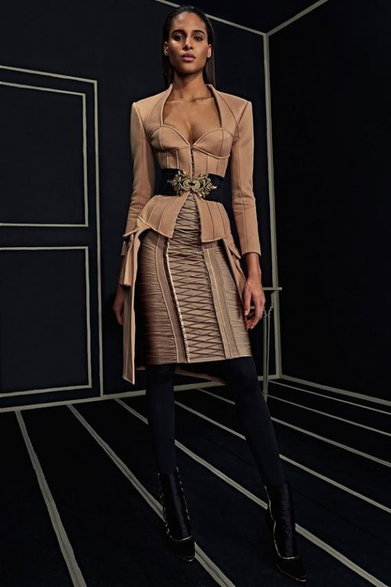 BALMAIN Versailles' Opulence. Sophistication in design.