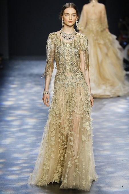 All the Women are Queens. Marchesa Fall - Winter collection