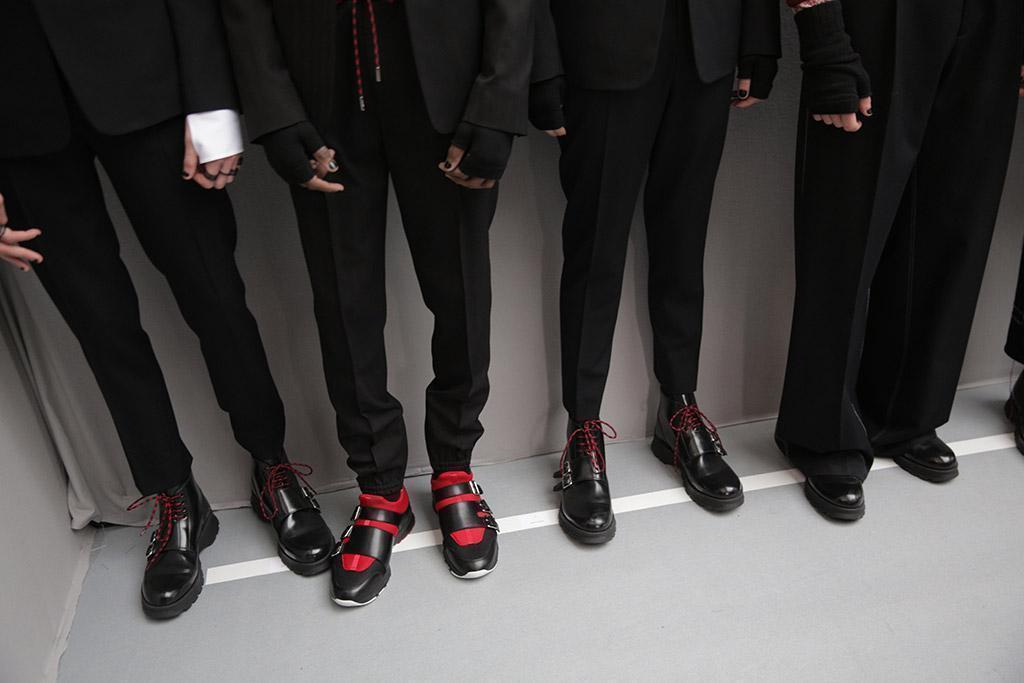 Men's shoes discoveries. Paris Fashion Week editorial.