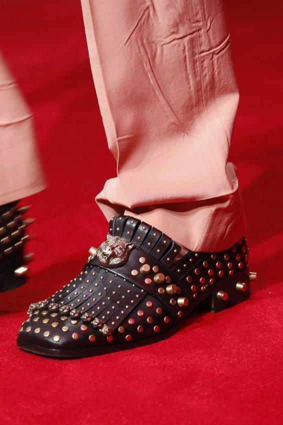 The Best Men's Shoes From Paris Fashion Week Fall Winter 2016-2017