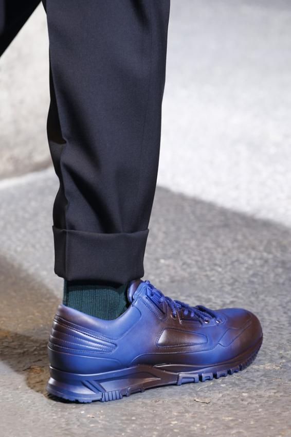 Men's shoes discoveries. Paris Fashion Week editorial.