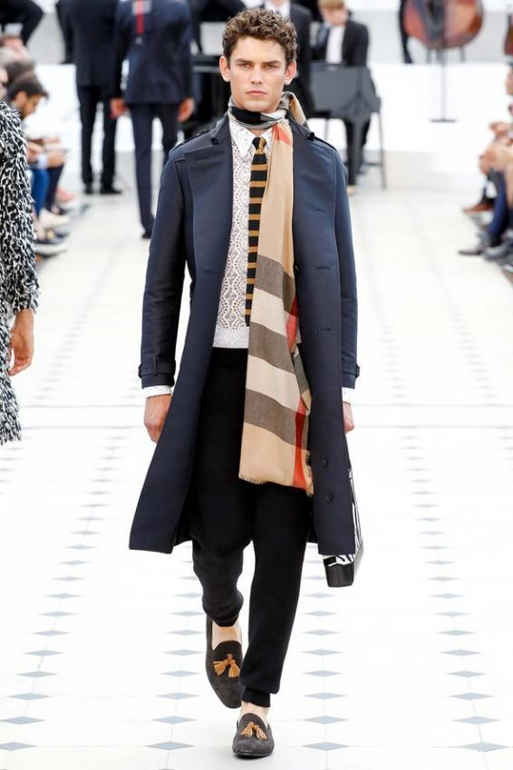 Men's Scarves as Fashionable Accessory 2016-2017 Collections