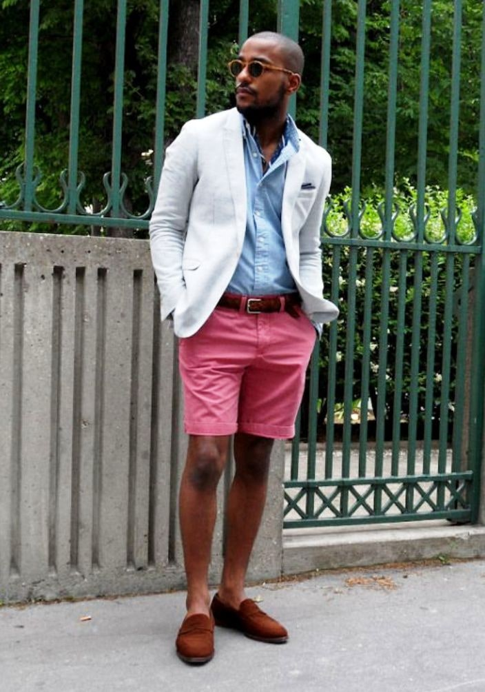 A colorful outfit is a great way to stand out