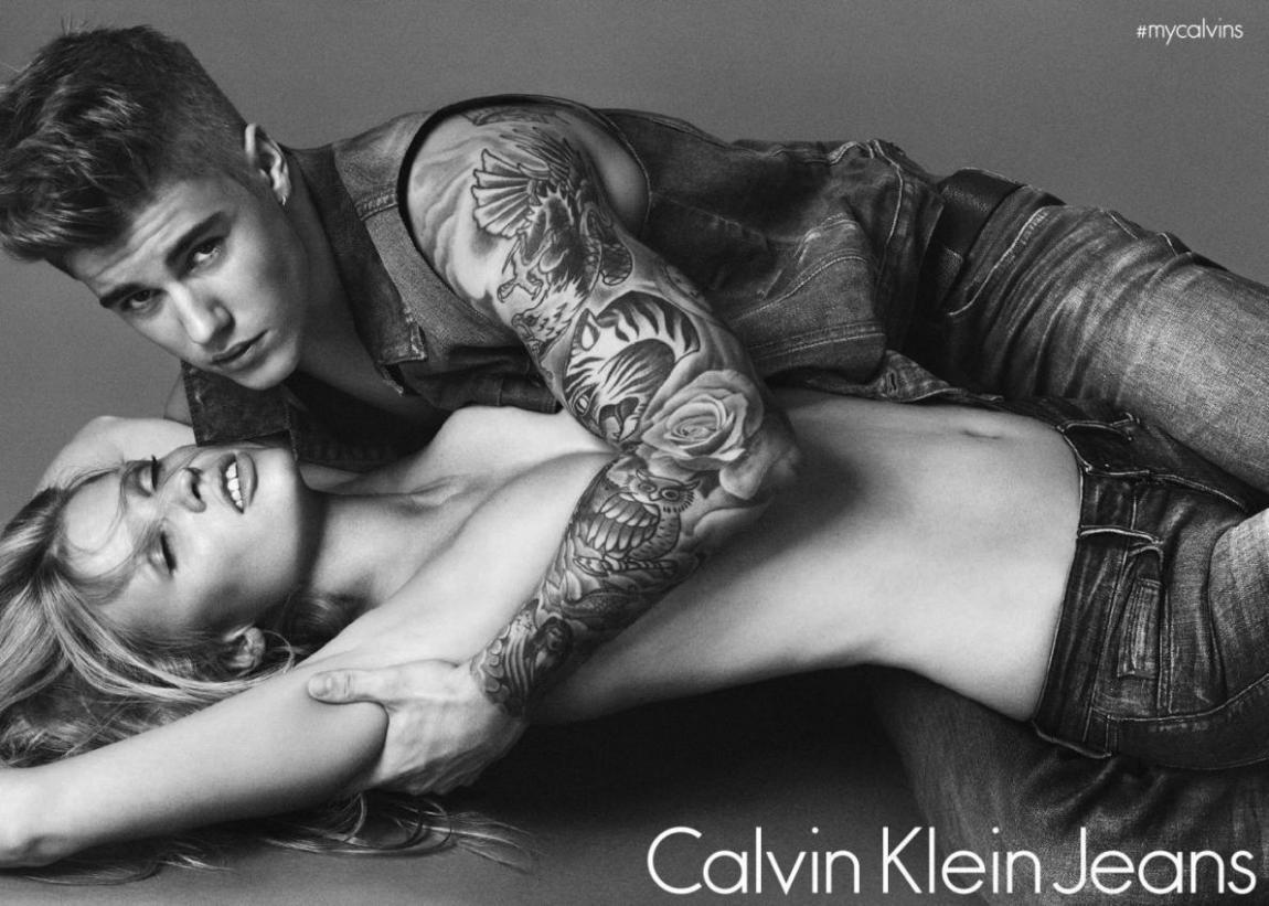 Justin Bieber Flaunts for Calvin Klein Spring 2016 Campaign