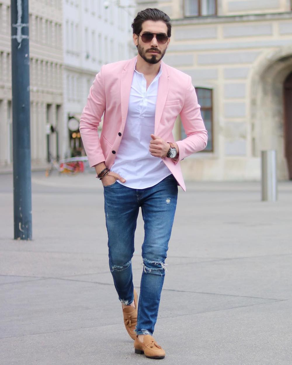 The best men's jeans trends for spring-summer