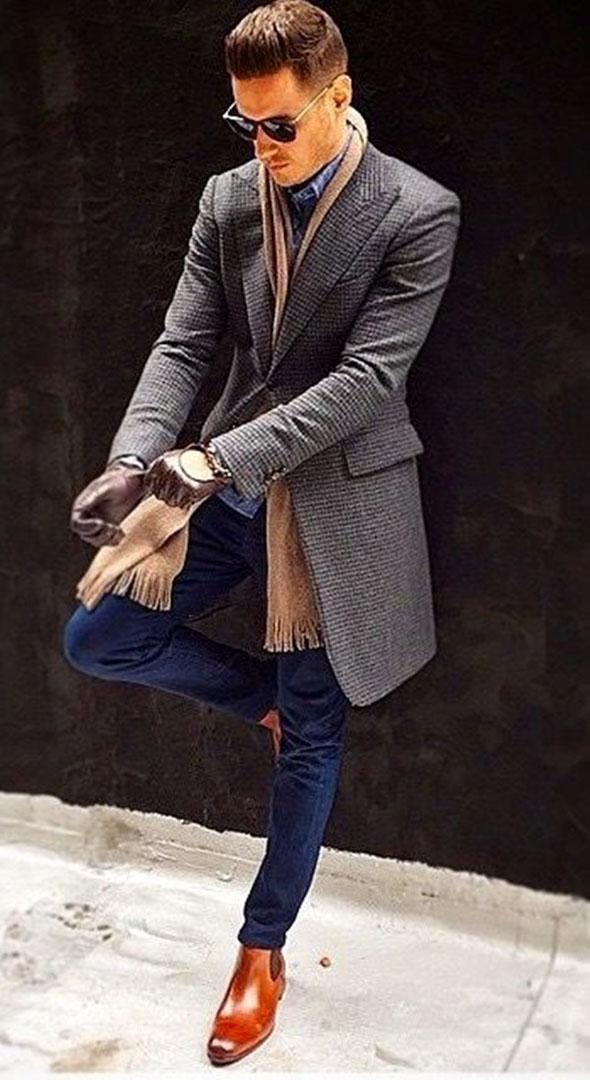 Stylish, Upscale and  Dapper Men's Looks Fall 2016