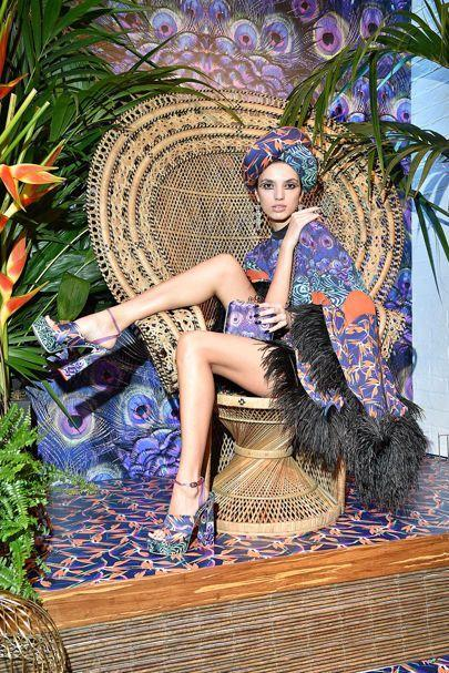 'Dolly Birds of Paradise'Sophia Webster S/S 2017