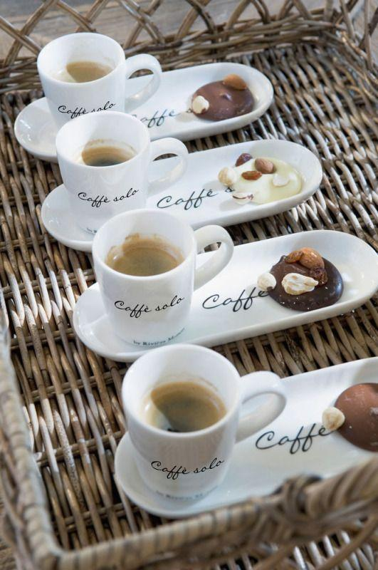 Coffee. A drink that gives a pleasure