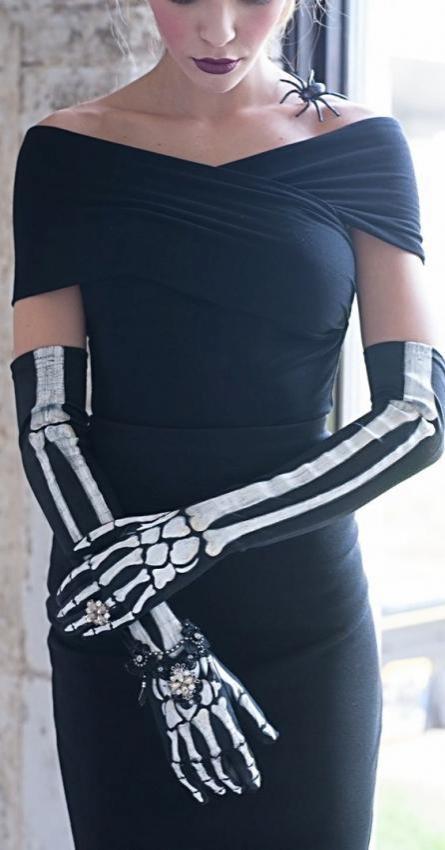 Halloween is coming. Choosing trendy accessories