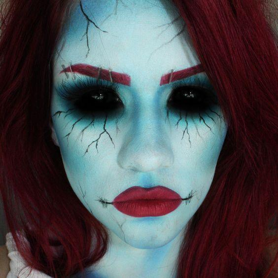 Hauntingly Gorgeous Halloween Makeup