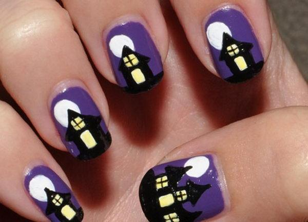 Fashion Halloween nail art ideas