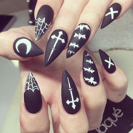 Cool Nail DesignsFor Halloween