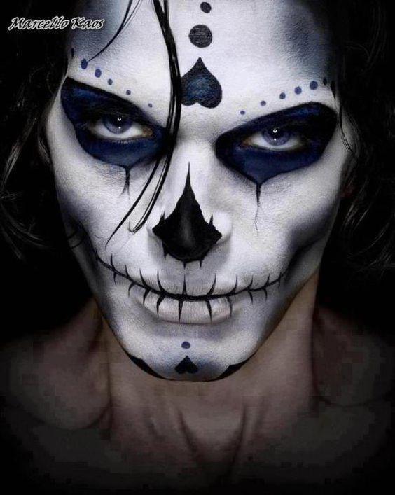 Halloween costumes.Halloween makeups for Men