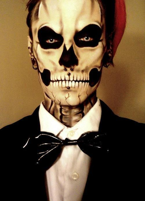 Halloween costumes.Halloween makeups for Men