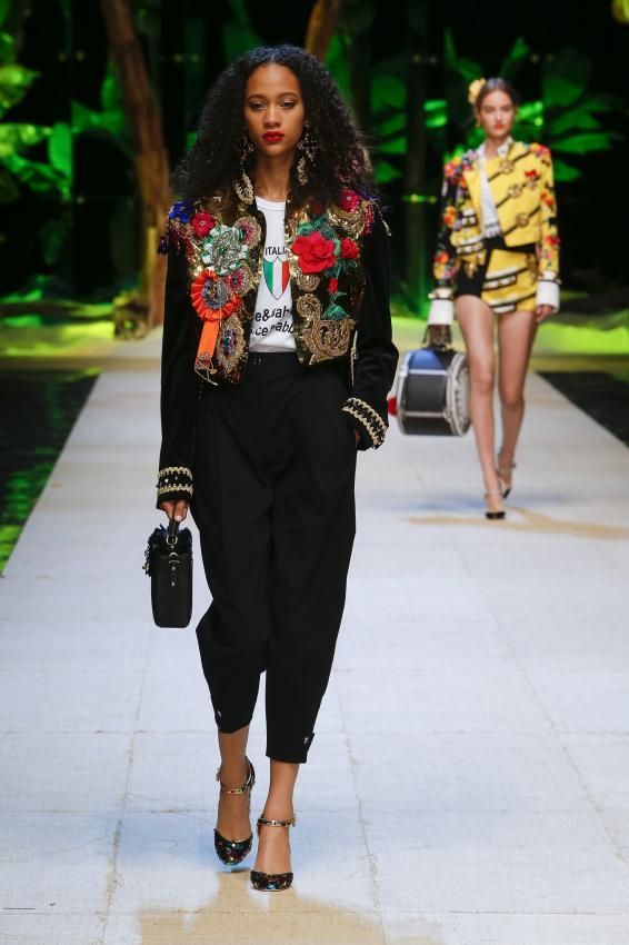 Dolce & GabbanaRunway Show #1
