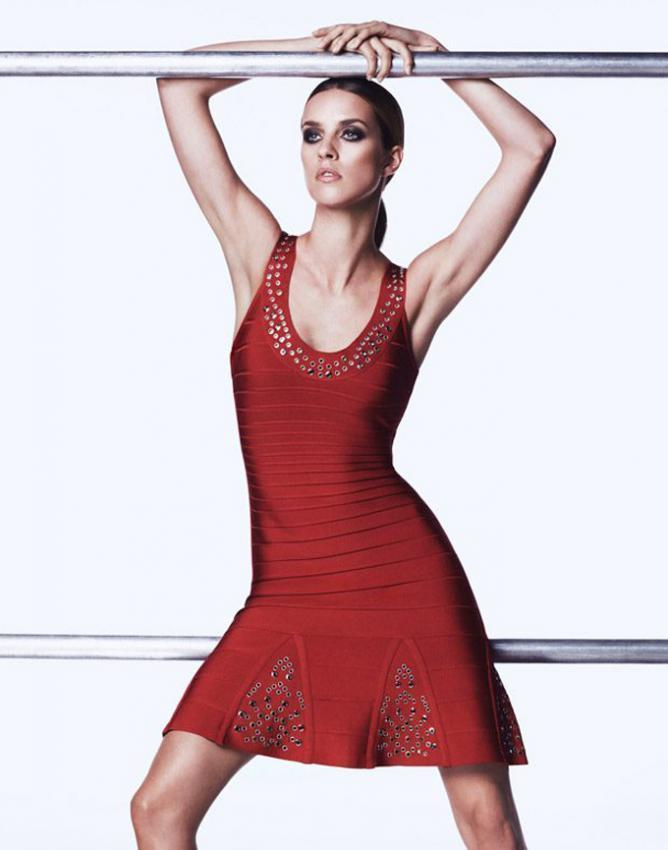 Herve Leger Strike the Balance