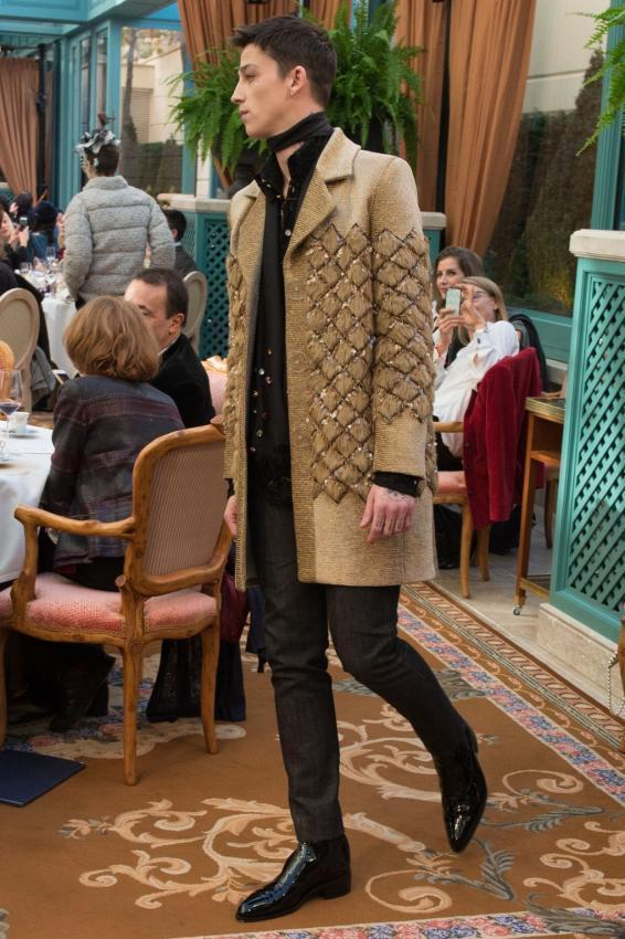 Chanel Pre Fall RTW 2017 Collection Men Editorial