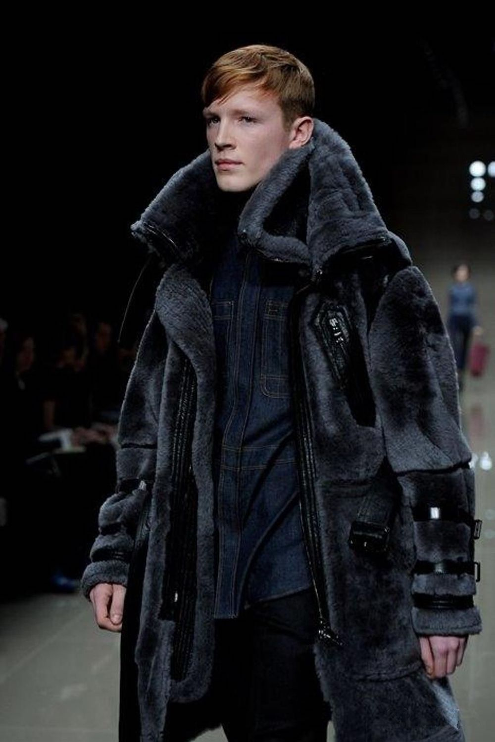 Mink fur coat from Hermes