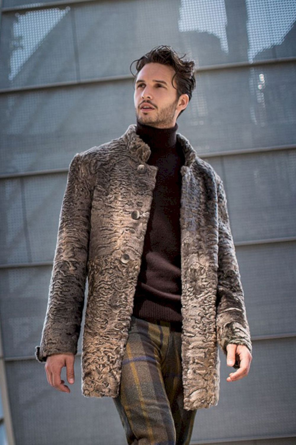 Men Should Wear Fur Coats