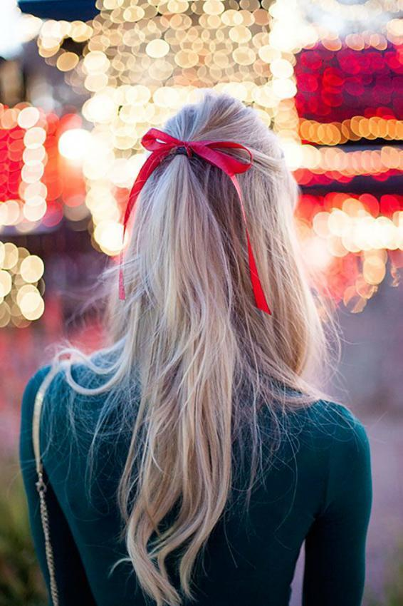 Hairstyle Ideas for Christmas and New Year