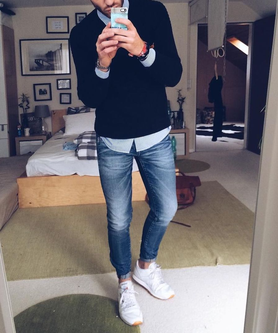 Casual and fashionable style look for men for spring summer season. Tips and tricks to create attractive outfit and stay in trends.