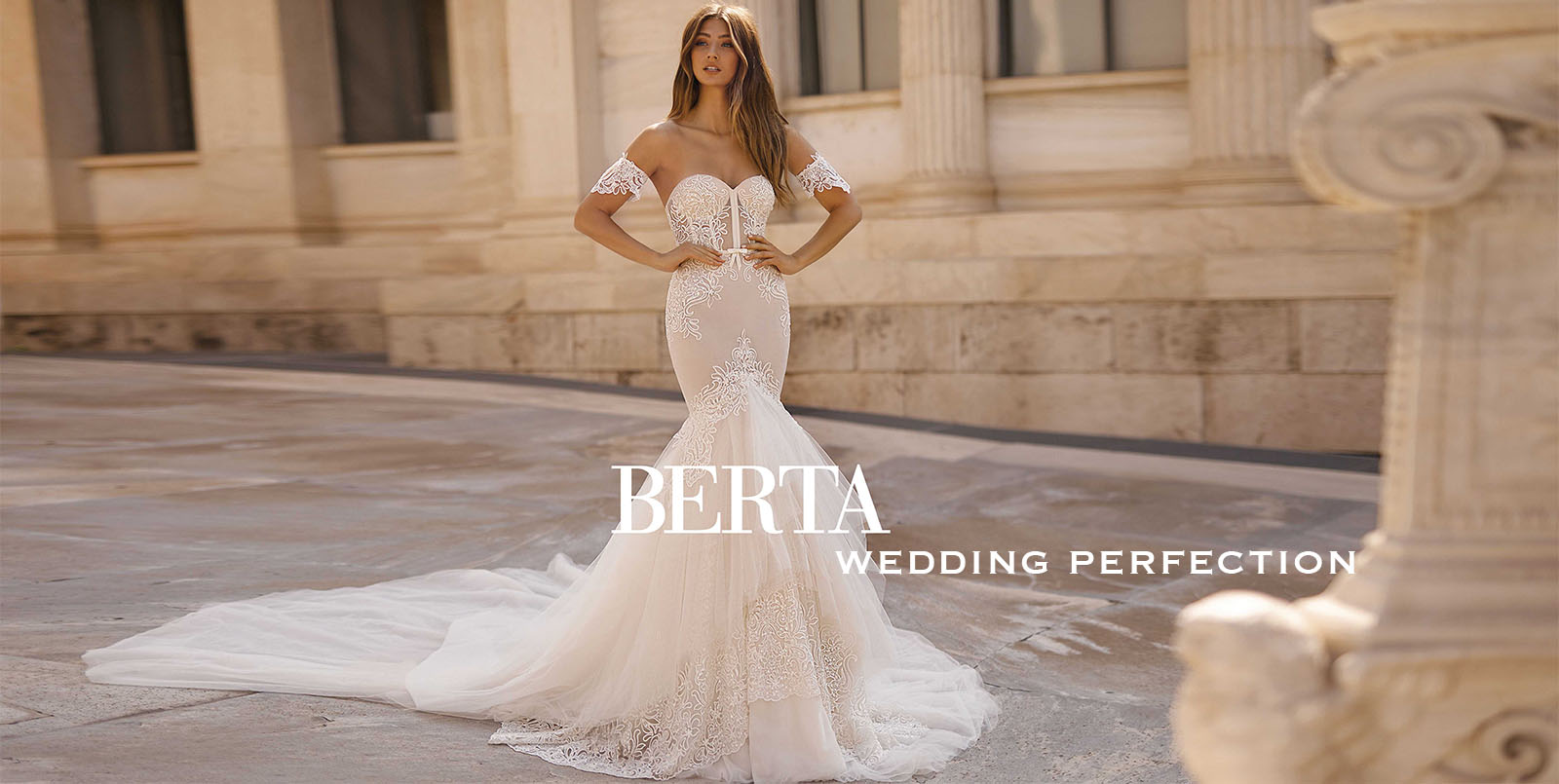 Bridal couture collection from Berta